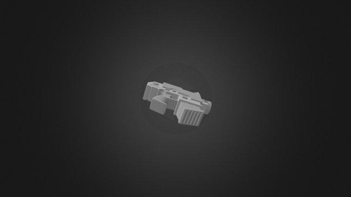 Boltpistol 3D Model