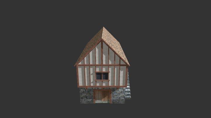 Medieval Building 04 3D Model