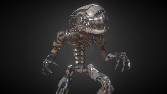 Coconut Character WIP 3D Model