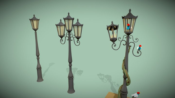 "Challenge Assignment Week 1 - ""Lamp"" 3D Model"