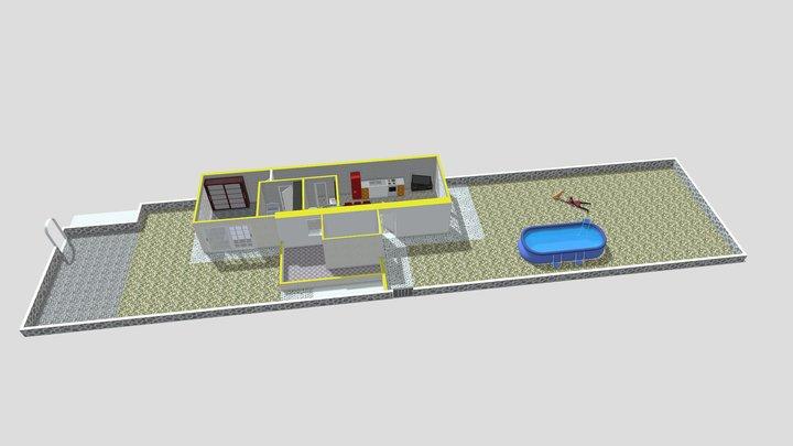 Appartamento numero 05 piano terra 3D Model