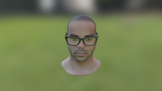 PrintMe Glasses 02 3D Model