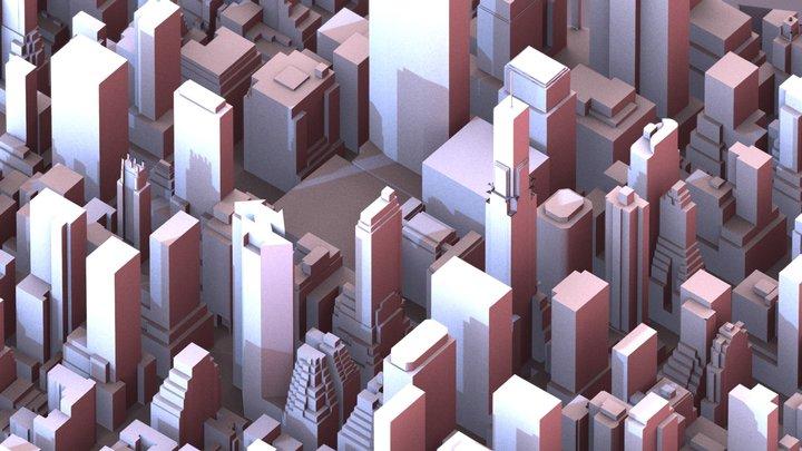 New York - Chrysler 3D Model