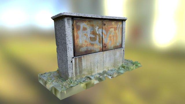Electricity Box 3D Model
