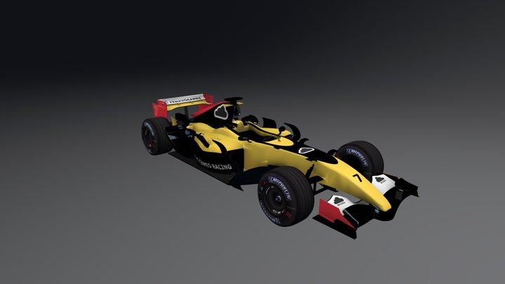 Fenavo Game Racing - Adriano Dino 3D Model