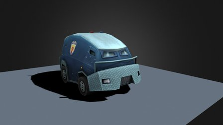 Armored 3D Model