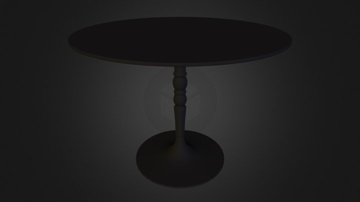 Table calligaris N280611.3DS 3D Model