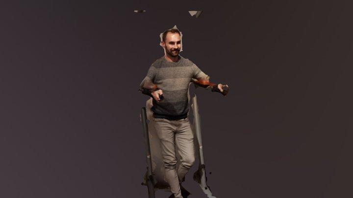Wolfgang 3D Model