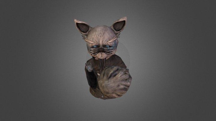 The old cat 3D Model