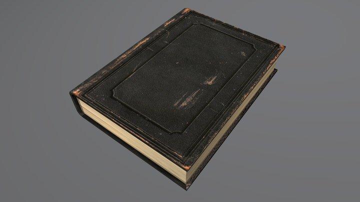 Worn_Book_01 3D Model