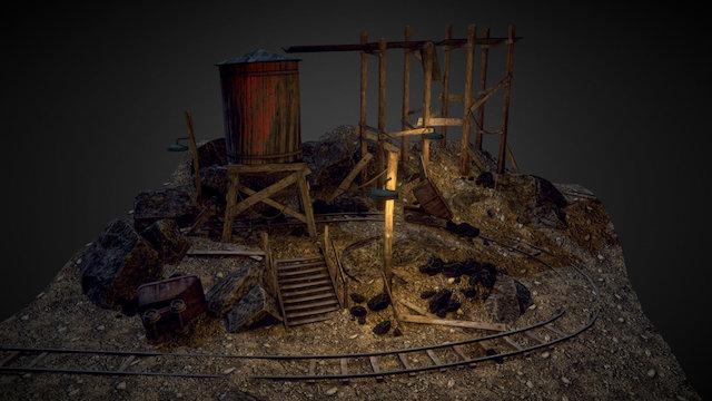 Abandoned Mine 3D Model