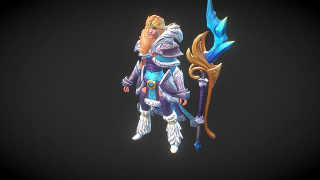 Dota 2 Workshop: Charge of the Tundra Warden 3D Model