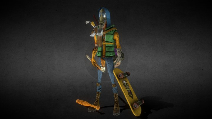 Young Apocalypse 3D Model