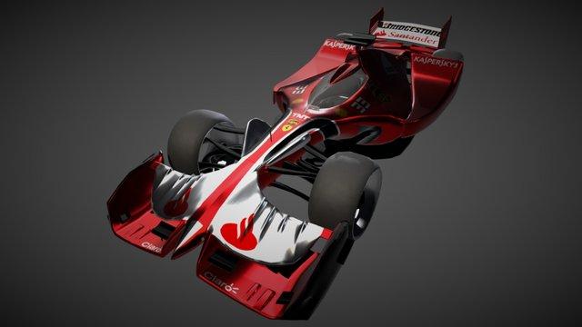 Ferrari f1 - SF22 3D Model