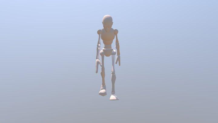 3d Aniamation Week 3 First Draft 3D Model