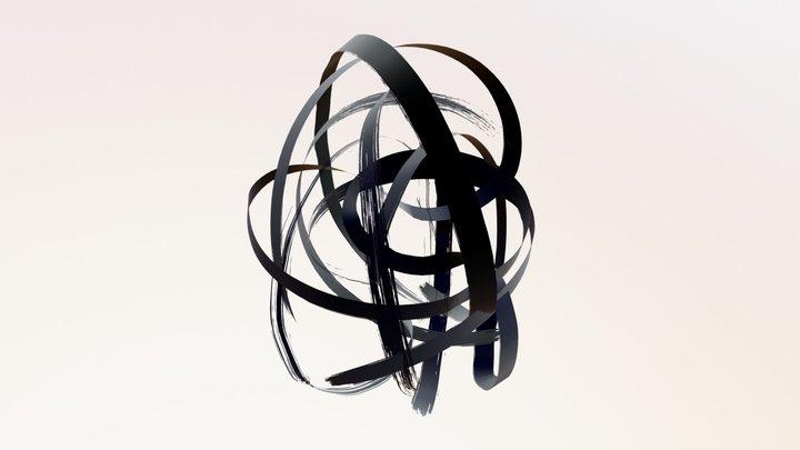 """""""Orb Black"""" 3D Model"""