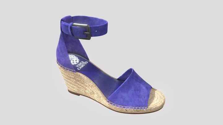 Blue Woman Shoe - Vince Camuto 3D Model