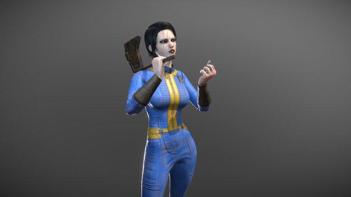 Fallout 4 vault suit 3D Model