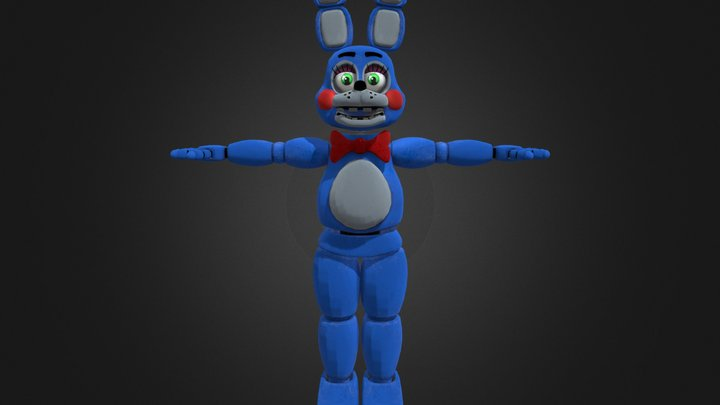 Toy Bonnie   Help Wanted 3D Model