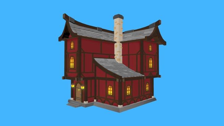 Casa Grande 3D Model