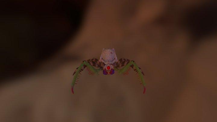 Spider Women 3D Model