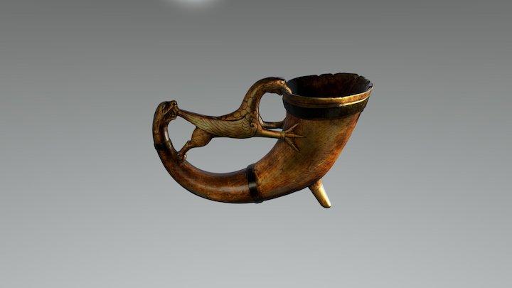Horn 001 Historiska museet 3D Model