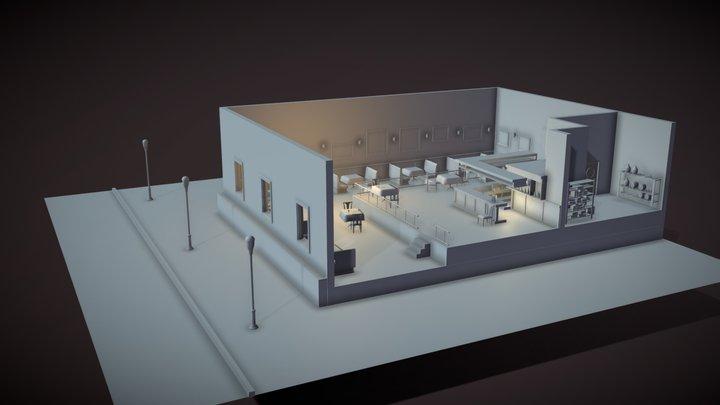 Homework 3  XYZ School 3D Model