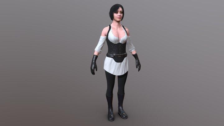 Varla 3D Model