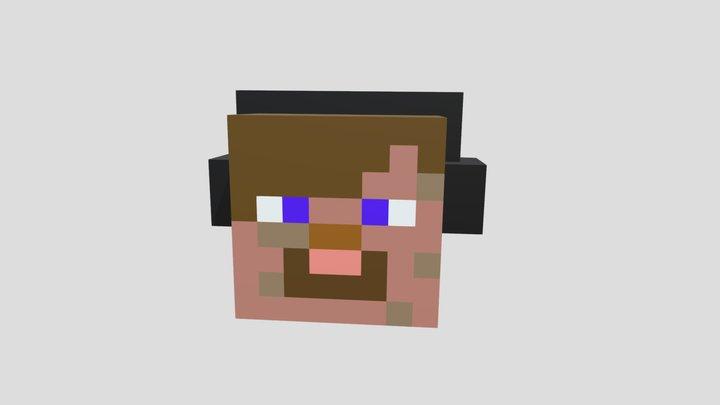 Minecraft Head 3D Model