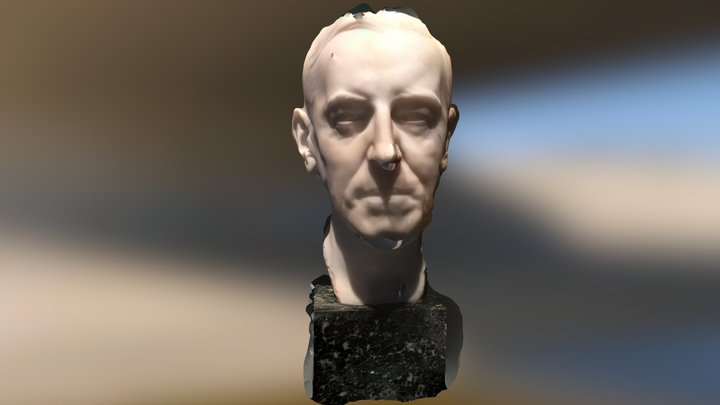 Woodrow Wilson 3D Model