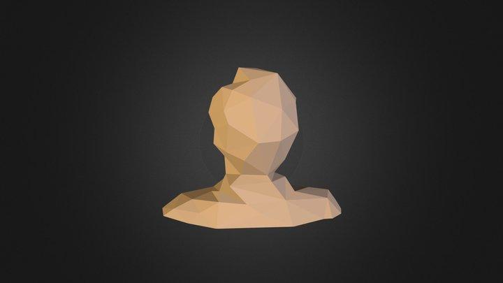 Filipe Low Poly Clay 3D Model