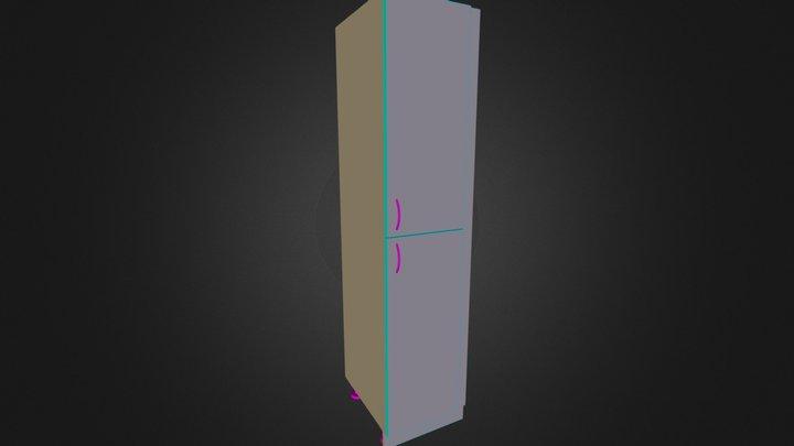 Colonne Poubelle 3D Model