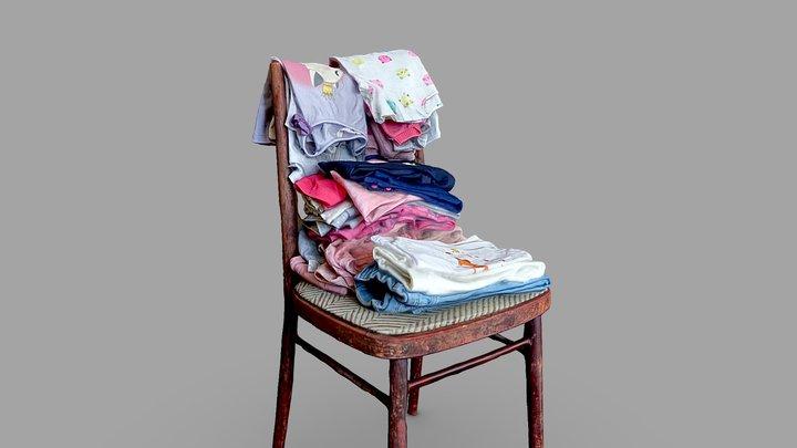 Baby Clothes 3D Model