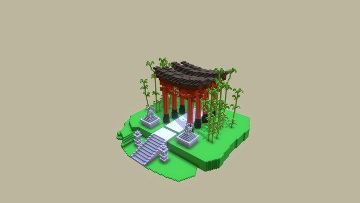 Fushimi Inari-taisha 3D Model