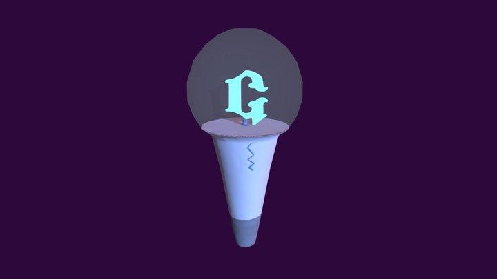 GFriend Lightstick 3D Model