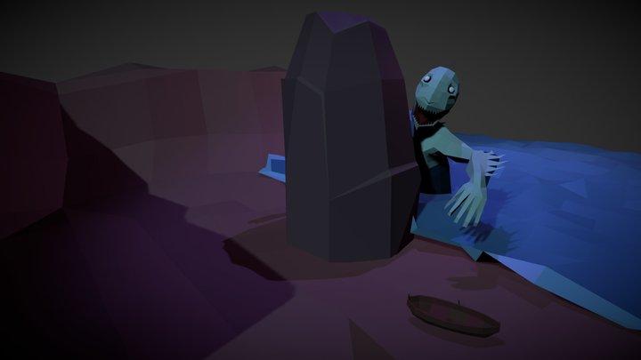 Dagón - H. P. Lovecraft 3D Model