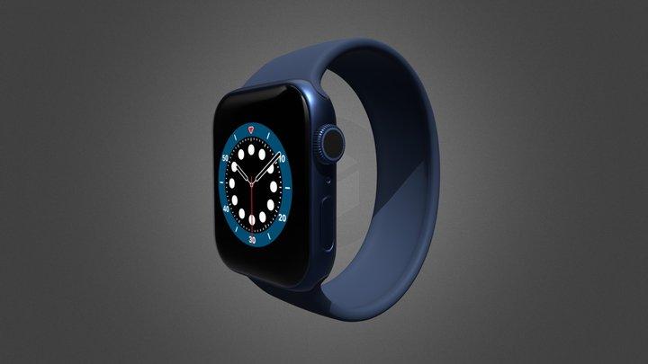 Apple Watch Series 6 3D Model