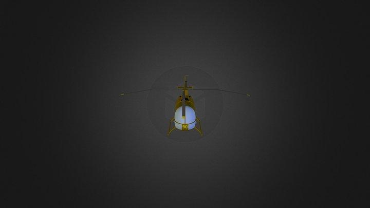 Helikopter 9 3D Model