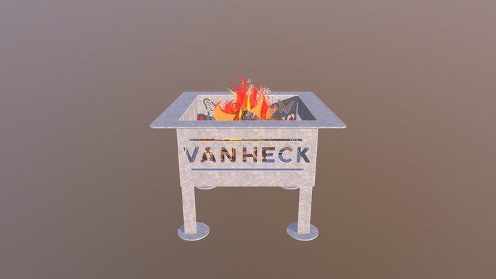 Van Heck firepit. 3D Model