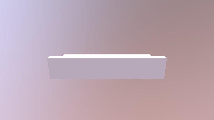 Upper Horizontal Support for Star Trek Tricorder 3D Model