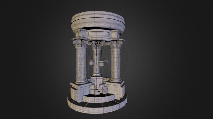 Well Basemesh 4 Updated 3D Model