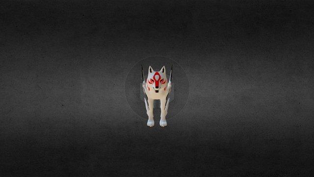 Okami Amaterasu 3D Model