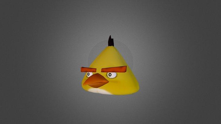 Angry Birds Chuck 3D Model