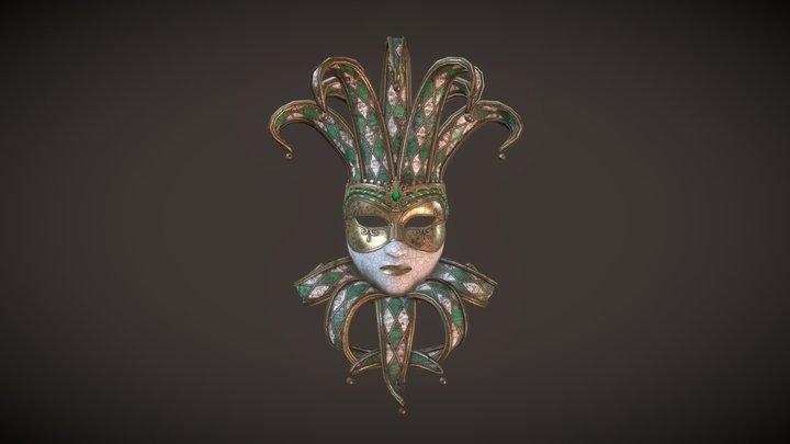 Venetian Mask - Jolly 3D Model