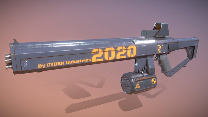 CYBER_Industries, Model2020 | Matteo L. 3D Model