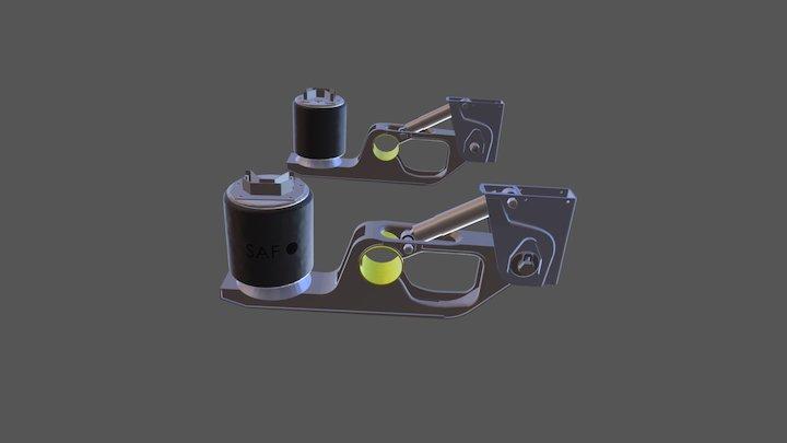 Пневмоподвеска SAF IU 3D Model