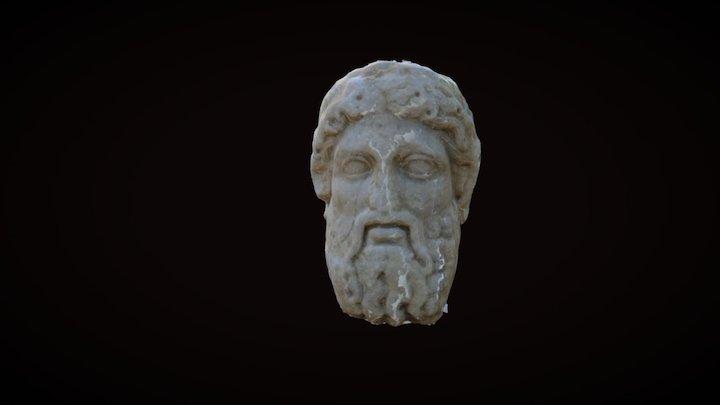 Statue in Delos 3D Model