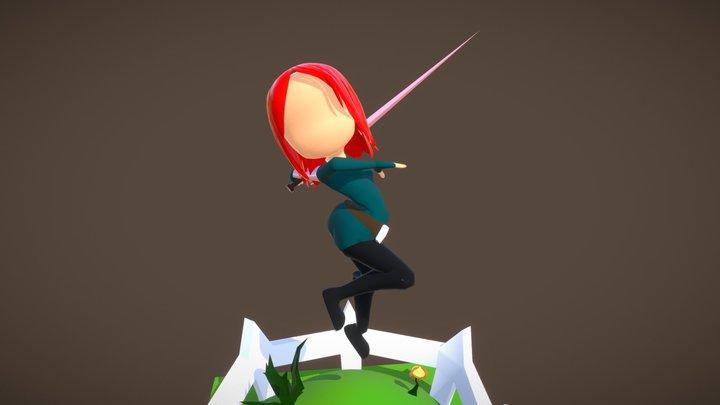 Rogue Sword 3D Model