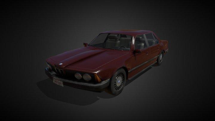 BMW 733i 3D Model