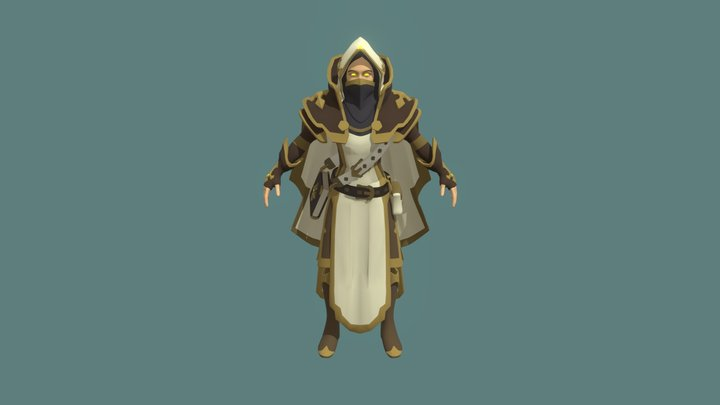 Albion_Draft_03 3D Model